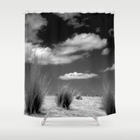 peru Shower Curtains featuring Peru Jouney NO1 by Julia Aufschnaiter
