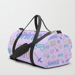 Game On (pastel) Duffle Bag