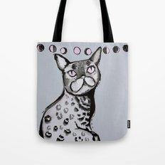 Lunar Neko Tote Bag