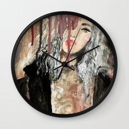 BLACK COAT Wall Clock