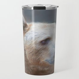 Bear Necessities      (digital painting) Travel Mug