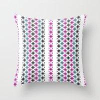 kilim Throw Pillows featuring Kilim by 603 Creative Studio