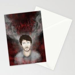 Will Graham - Tightrope in the Darkness Stationery Cards