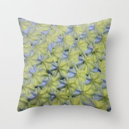 Piped Stars Throw Pillow