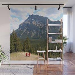 Enjoying The Beautiful View Wall Mural