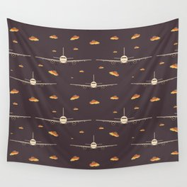 Take Off (Pattern) Wall Tapestry