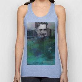 George Orwell Unisex Tank Top