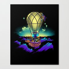 Light Flight Canvas Print