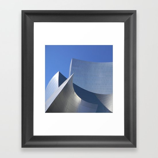 A beautiful context for life's drama Framed Art Print