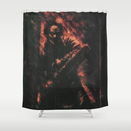 The Texas Chainsaw Massacre Shower Curtain
