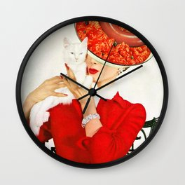 The Way I see You Wall Clock