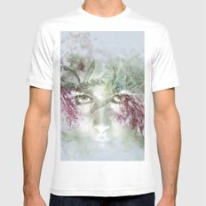 The Nymph SMALL Mens Fitted Tee White