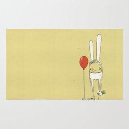 Sad Bunny Rug