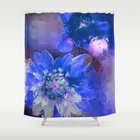 passion Shower Curtains featuring Passion by Bunny Clarke