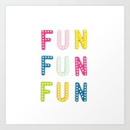 Colorful Fun Art Print