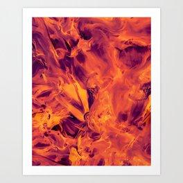 Blended Art Print