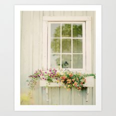 WINDOW PERFECT  Art Print