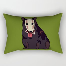 Ghost dog Rectangular Pillow