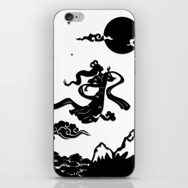 Chang Er flies to the Moon iPhone Skin