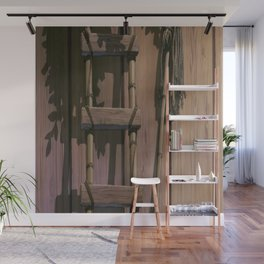 OLD_LADDER Wall Mural