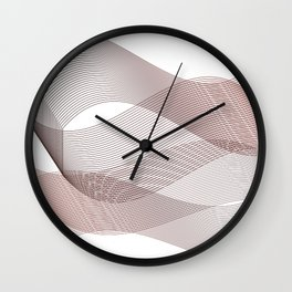 Wine vibes Wall Clock