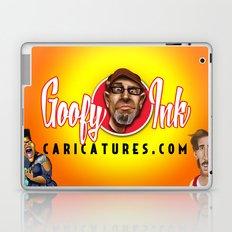 www.GoofyInkCaricatures.com Laptop & iPad Skin