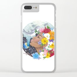 Beauty in Abstract-Realism Clear iPhone Case