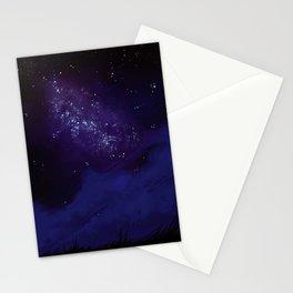 Night sky V2 Stationery Cards