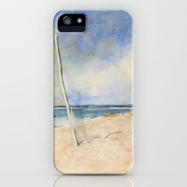African Beach - Digital Remastered Edition iPhone Case