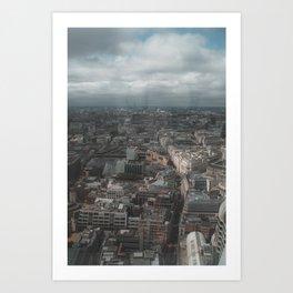 London's skyline Art Print