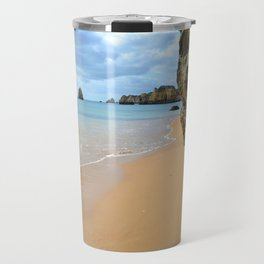 Beach hideaway in the Algarve Travel Mug
