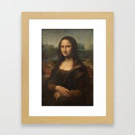 Mona Lisa, Leonardo da Vinci, 1503 Framed Art Print