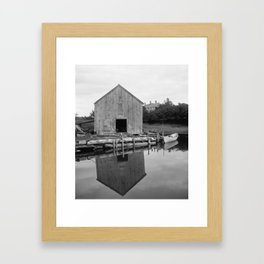 Old Fish House Framed Art Print