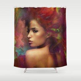 fantasy woman sensation Shower Curtain