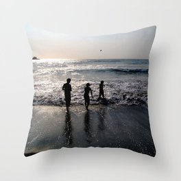 Love Ours Throw Pillow