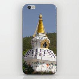TIBETAN STUPA iPhone Skin