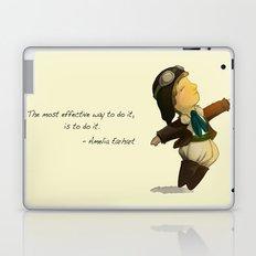 Amelia Earhart  Laptop & iPad Skin