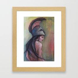 Goddess Athena Framed Art Print