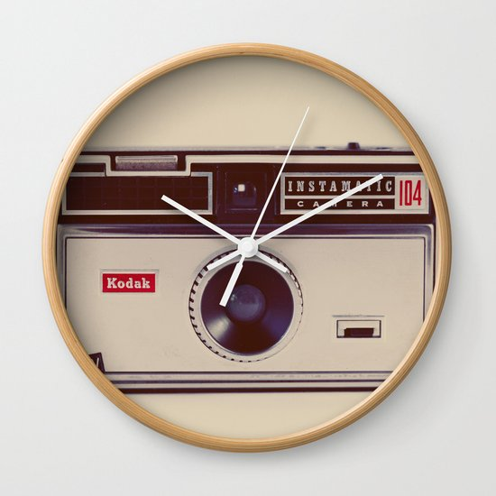 Instamatic Wall Clock