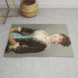 "Édouard Manet ""Madame Michel-Lévy"" Rug"