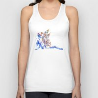 tinker bell Tank Tops featuring Tinker Bell - My Glowing Love for You by Chien-Yu Peng