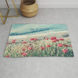 Sea of Poppies Rug