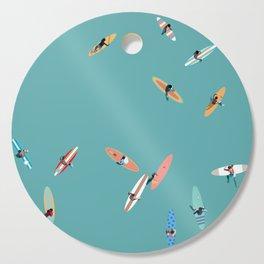 Surfing Saturdays Cutting Board
