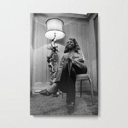 Eunice Kathleen Waymon - Society6 BLM Online Photography - Nina Simone - Black Friday Metal Print