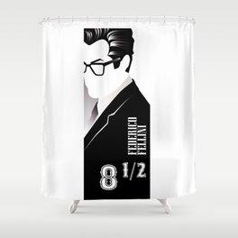 Otto e mezzo Shower Curtain