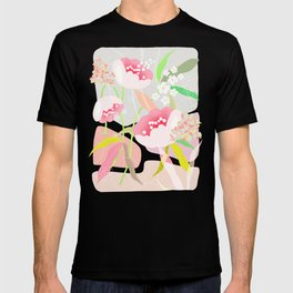 rapture: abstract floral. T-shirt