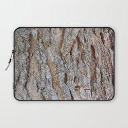 TEXTURES -- Big Cone Pine Bark Laptop Sleeve