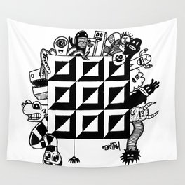 Monster bunch Wall Tapestry