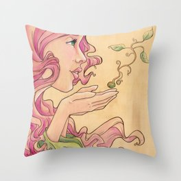 Hope Whispers Throw Pillow
