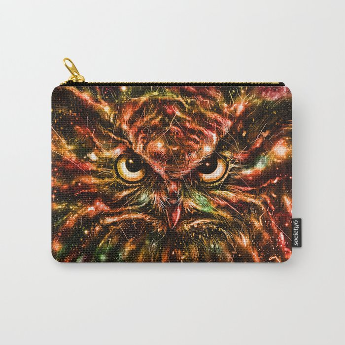 Space Owl Carry-All Pouch